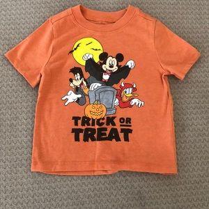 "Halloween ""Trick or Treat"" Mickey t shirt"